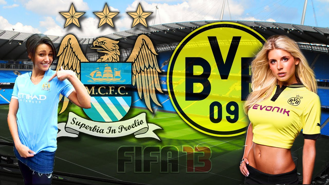 Manchester City Vs Borussia Dortmund Goals Highlights   HD ...