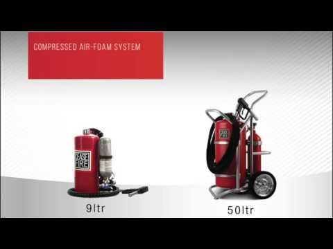 Specialized Watermist Based Extinguishers