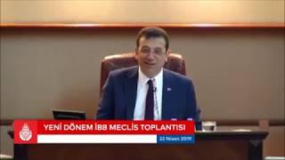Ekrem İmamoğlu canlı yayın ibb meclis toplantısı
