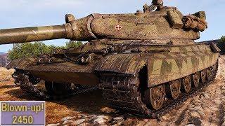 60TP Lewandowskiego - DAMAGE MONSTER - World of Tanks Gameplay