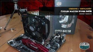 Cooler Master Hyper H411R | Unboxing | Rápida instalación