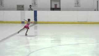 陳歆 Crystal Chen 2015全國盃滑冰花式5級 (9歲)