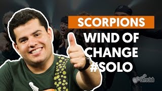 Wind Of Change - Scorpions (How to Play - Guitar Solo Lesson)