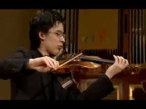 Aylen Pritchin plays at 14th International Henryk Wieniawski Violin Competition 2011 (Stage 2)