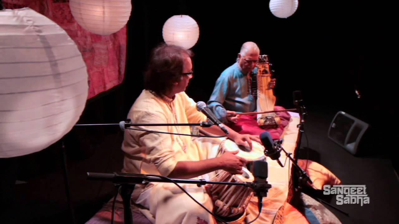 SangeetSabha presents Pandit Nayan Ghosh on Tabla with Pandit Ramesh Mishra on Sarangi