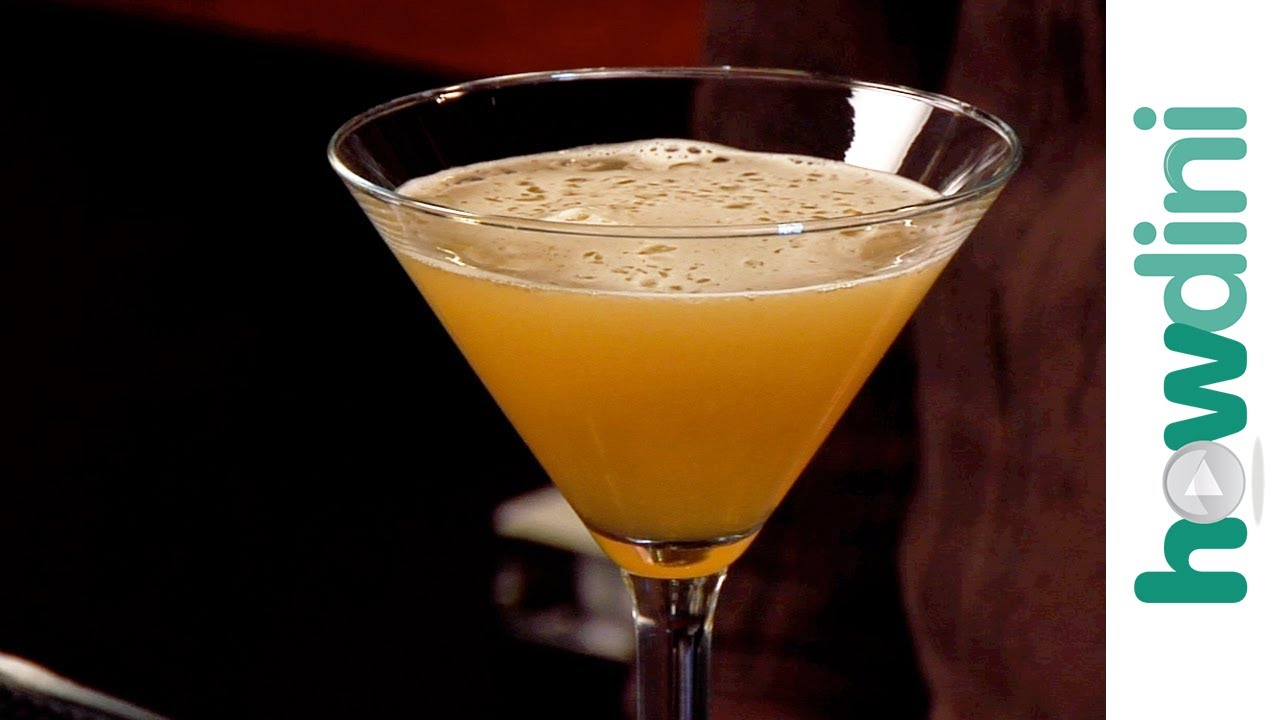 Rachel Maddow: How to make a sidecar cocktail - YouTube
