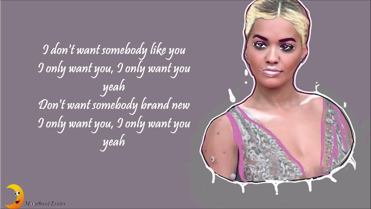 Bestellung Sonderpreis für aktuelles Styling Only Want You( Lyrics )- Rita Ora ft. 6LACK - YouTube