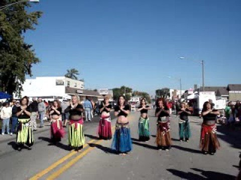 Coal City Octoberfest 2008 belly dancing -- Kiss Kiss