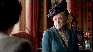 The Dowager Countess Finest Burns On Downton Abbey