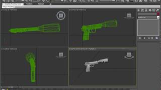 GTA - Edit a gun in 3Ds MAX