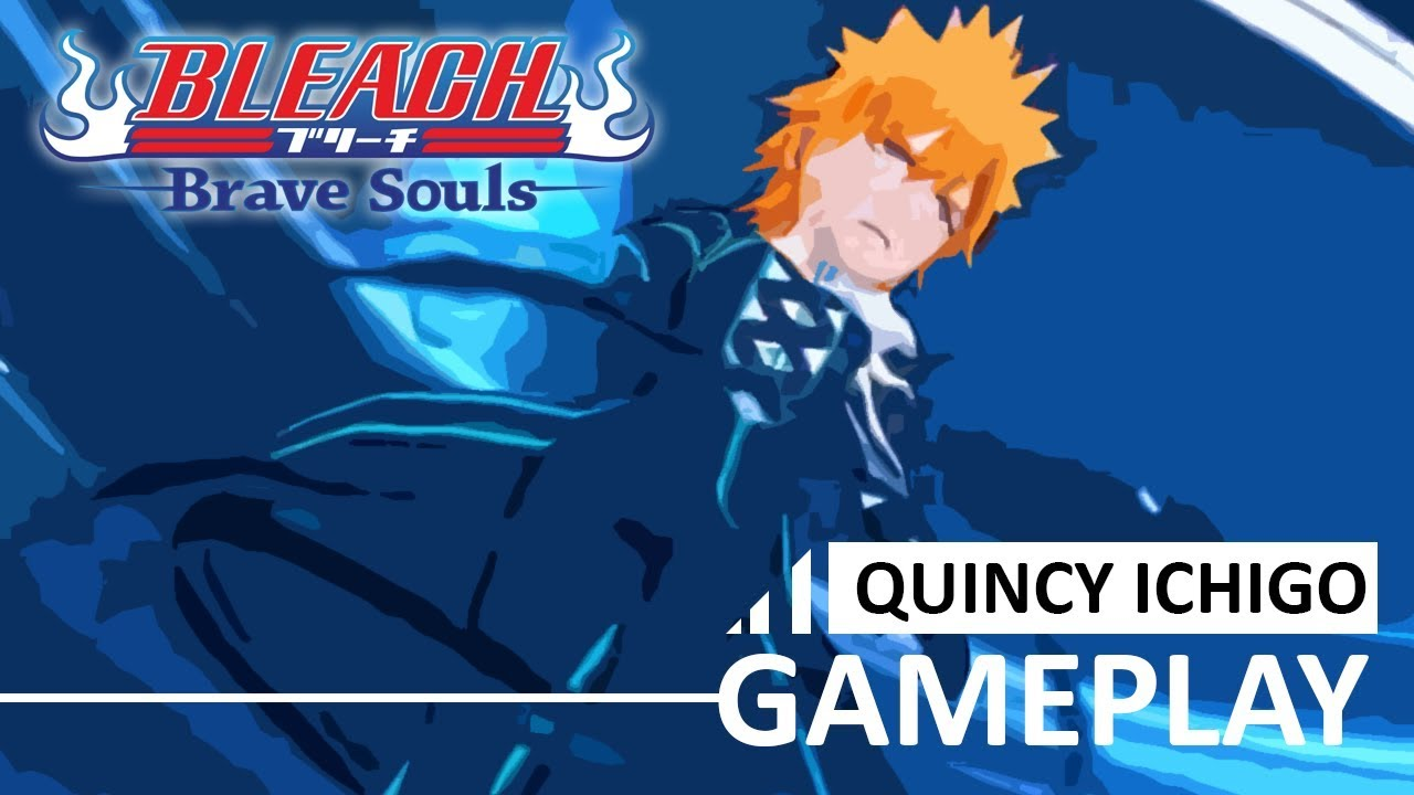 [Bleach Brave Souls] Quincy Ichigo GAMEPLAY PREVIEW!!!