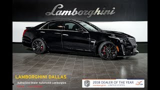 2017 Cadillac CTS V Black Raven LT1157