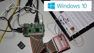 use gpio controller with vb net raspberry pi 2 iot windows 10 blink example