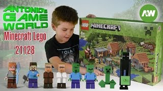 Lego Minecraft Village 21128 Set review - Lego Fun for Kids!