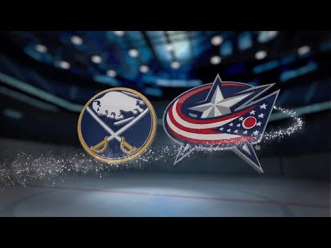 Buffalo Sabres vs Columbus Blue Jackets - October 25, 2017 | Game Highlights | NHL 2017/18 Обзор
