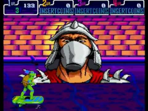 Teenage Mutant Ninja Turtles: Turtles in Time (Arcade) Full Playthrough