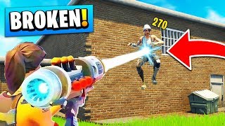 6 *INSANE* Fortnite Weapons That BROKE THE GAME! (Season 6)