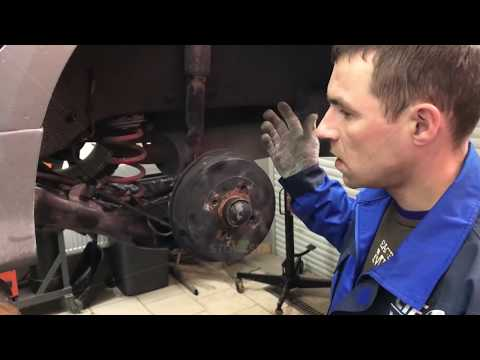 Установка задних дисковых тормозов на Lada Vesta