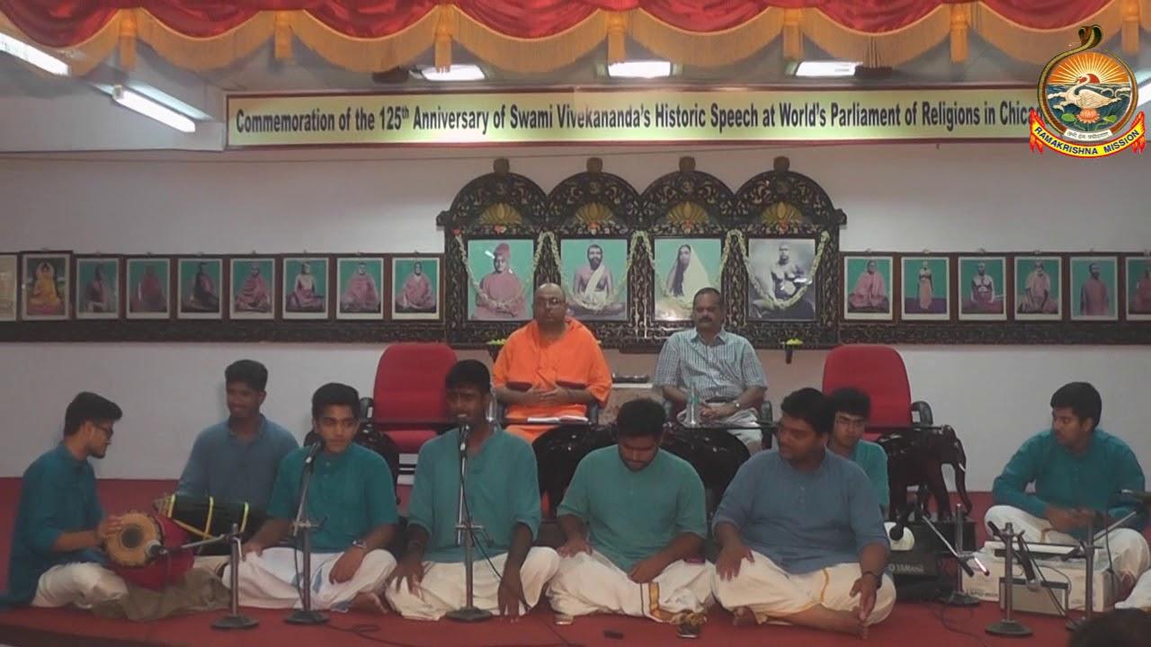 Navaratri Bhajan By RKM viveka Students