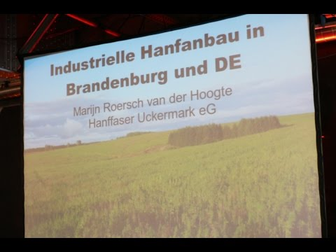 """Industrieller Hanfanbau in Brandenburg"" - Marijn Roersch van der Hoogte - Mary Jane Berlin 2016"
