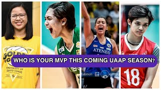 POSSIBLE MVP CANDIDATES FOR UAAP SEASON 82 VOLLEYBALL