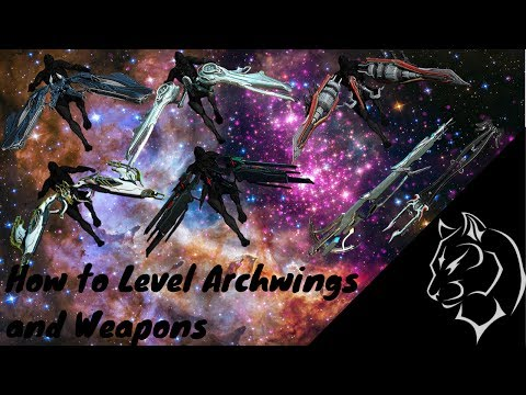 Warframe: How to Level Archwings and Arch-weapons