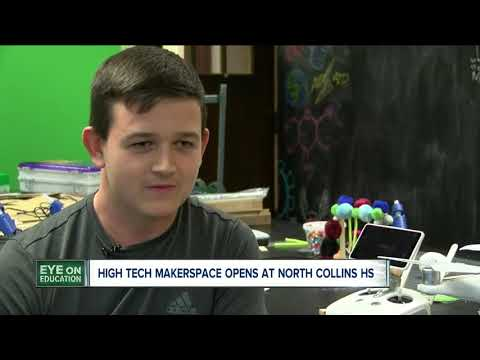 These WNY students are learning robotics, coding and 3-D printing in new classroom--5:30
