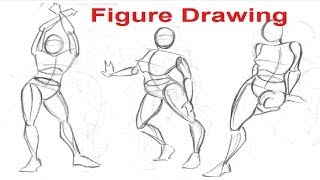 Figure Drawing Lessons 1/8 - Secret To Drawing The Human Figure