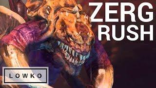 StarCraft 2: ZERGLING RUSH!