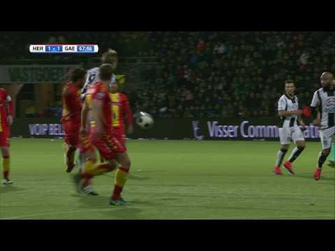 Heracles Almelo - Go Ahead Eagles 2-1 | 19-11-2016 | Samenvatting