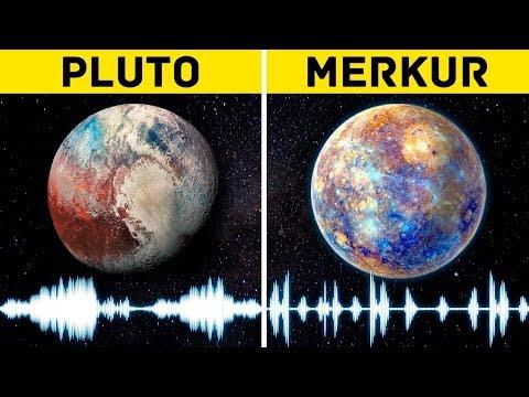 Unglaubliche Geräusche der Planeten! Das musst du hören!