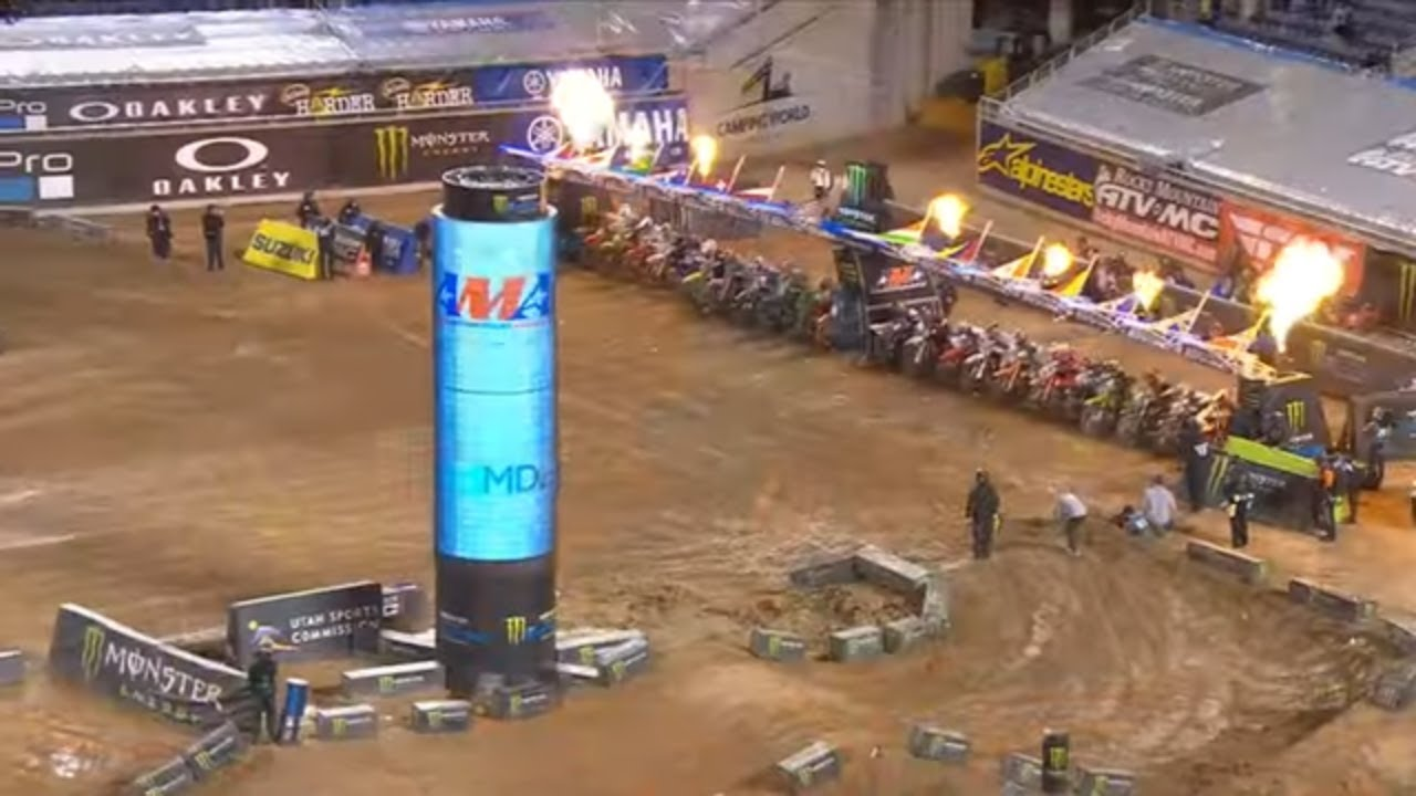 Round #8 Supercross 450SX Highlights from Orlando