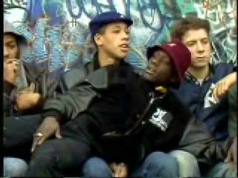 Joey Starr Assassin et Vincent Cassel en 1988