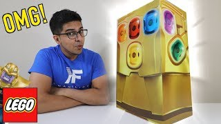 UNBOXING - Marvel Avengers Infinity War SUPER HUGE Infinity Gauntlet Surprise Box!! Kids LEGO Toys