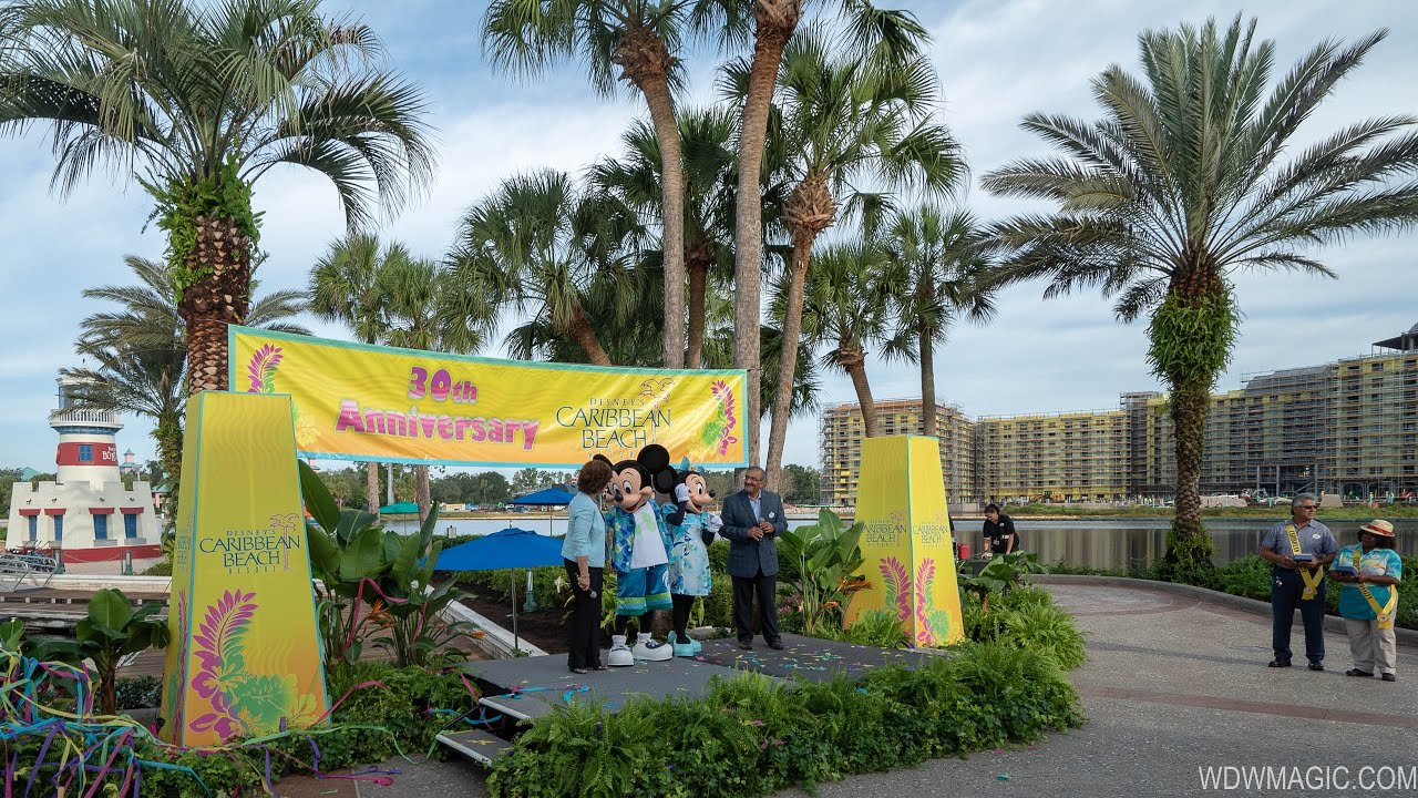 Caribbean Beach Resort 30th Anniversary
