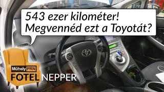 Fotelnepper: 543 ezer kilométer! Megvennéd ezt a Toyotát?