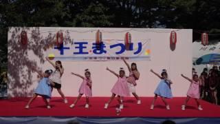 十王まつり *キッズダンス パピヨンさん.