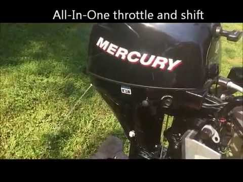 how to clean carb on 4 stroke mercury
