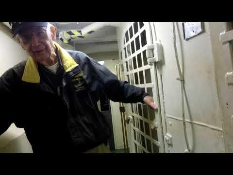 Jail life on board aircraft carrier USS Hornet