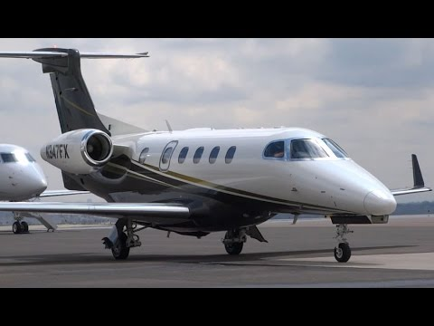 Flight Options - Embraer Phenom 300 - Arrival and Shutdown