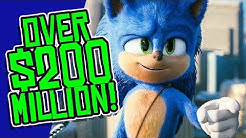 Sonic Passes $200 MILLION at the Box Office WITHOUT China and Japan!