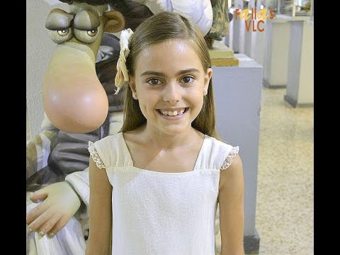 Fallas VLC–Vicky Domínguez-Entrevista Rebeca Sánchez Agüera preseleccionada Canyam-Grau-Nazaret