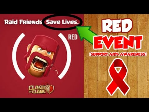 Clash Of Clans| SHOW YOUR SUPPORT | FIGHT AGAINST AIDS! |