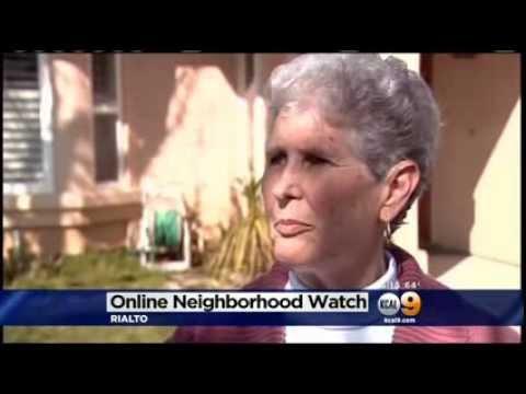 Rialto Residents Establish Online Neighborhood Watch Program