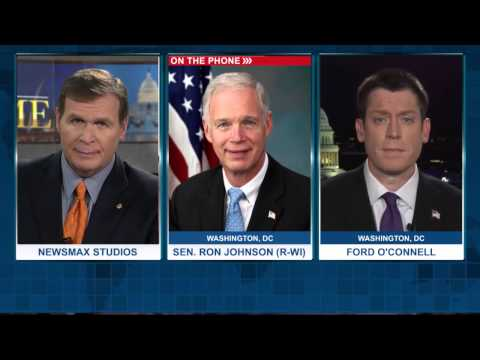 Newsmax Prime | Sen. Ron Johnson and Ford O'Connell