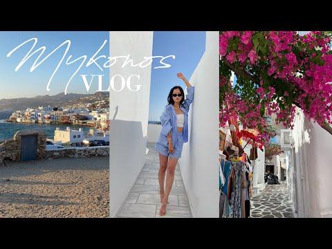 MYKONOS GREECE TRAVEL VLOG 2021 | 그리스 브이로그 Lois You