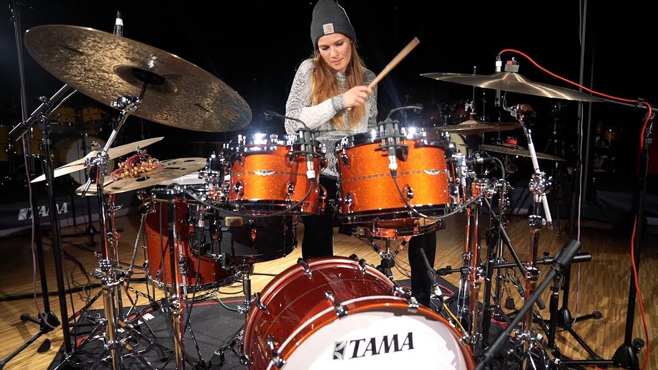 Anika Nilles - Drummer - Baterista - Female drummer