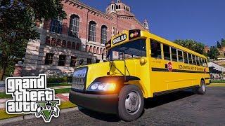 Der Schulbusfahrer 😎 - GTA 5 Real Life Mod