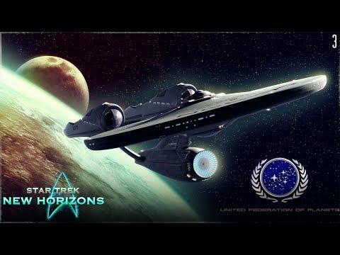 STAR TREK: NEW HORIZONS   The United Federation of Planets - Episode 3 (Stellaris mod)