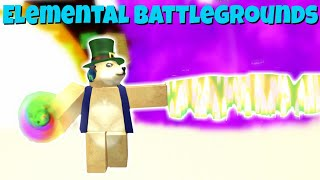 Roblox Elemental Battlegrounds Gameplay